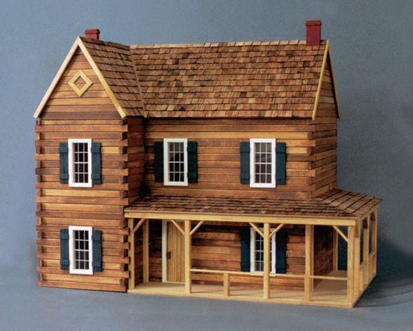 Casa de madera a escala