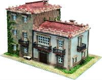 Maqueta de casa gallega