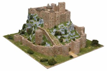 Maqueta del castillo de Loarre