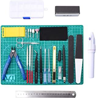 Conjunto de herramientas para maquetas